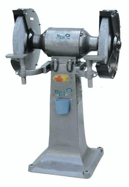Tech machines bg 400 touret meuler meule diametre 400 mm - Touret a meuler ...